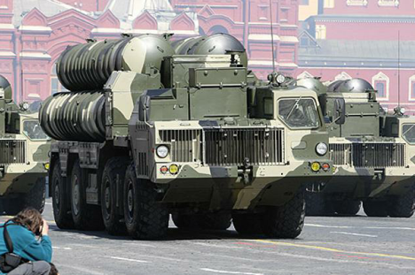 One S-300 missile system is estimated by experts to cost some $115 million, plus $1 million or so per missile. Source: Press Photo