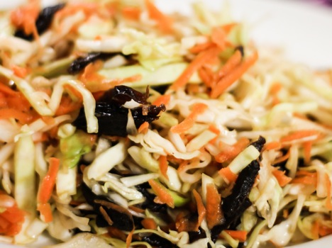 Salad with Prunes. Source: Divya Shirodkar
