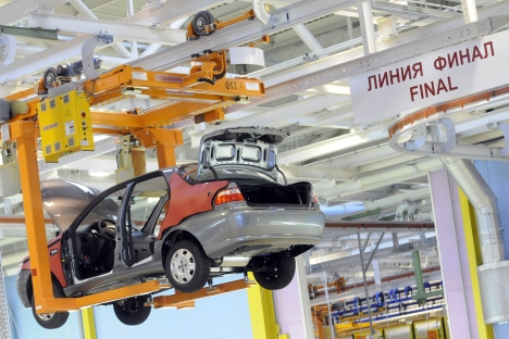 Despite a moderate downturn in car sales seen in Russia from the beginning of the year, the country is a critical automobile market, which is projected to surpass Germany in the future. Source: ITAR-TASS