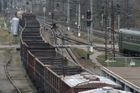 The rail road may bring better prospects of trade and development for the whole Central Asia region. Source: Denis Grishkin, Vedomosti