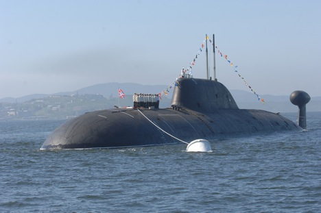 In 2012, Russia gave the submarine out to the Indian Navy for a 10 year lease for $930 million. Source: ITAR-TASS