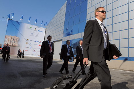 The heads of more than 500 companies confirmed their attendance in St. Petersburg International Economic Forum this year. Source: Kommersant