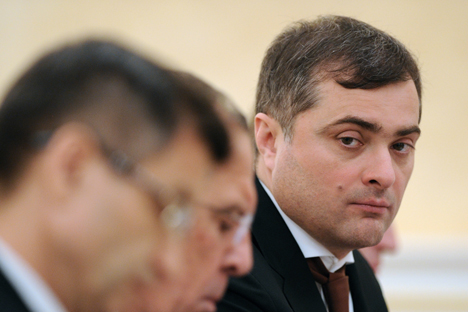 Despite resignation, Surkov remained in President Vladimir Putin's team. Source: ITAR-TASS