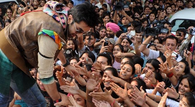 Bollywood heart-throb Ranbir Kapoor. Source: Image Forum