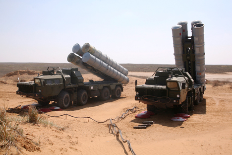 The S-300PMU1 long-range surface-to-air missile system is designed to fight off the most widely used modern aircraft, as well as cruise, aeroballistic, tactical and short-range attack missiles. Source: ITAR-TASS