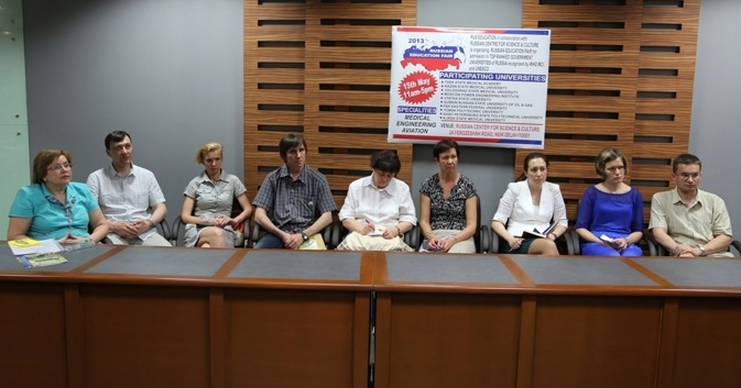 Representatives of ten universities from eight Russian cities have arrived in India to participate in the annual Russian Education Fair 2013. Source: Alexander Tomas
