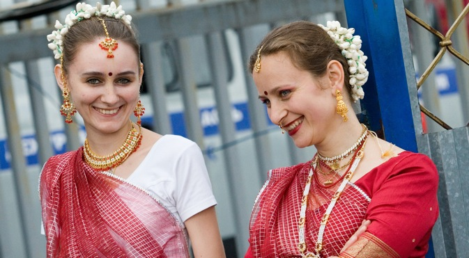 Indian culture appeals to many in Russia. Source: Press Photo