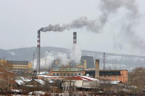Thermal power plant in Ulan-Ude, Buryatia. Source: Zorikto Dagbaev/RIA Novosti