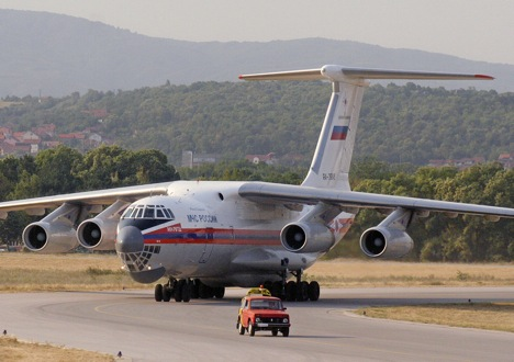 The IAF plans to gradually replace Russian Il-76 (photo) with US C-17 Globemaster III. Source: Reuters / Vostok-Photo