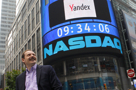 Yandex is one of the most successful Russia's IT-companies. Source: Reuters