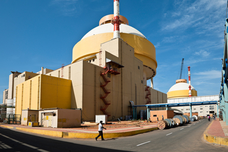 The Kudankulam Nuclear Power Plant (KNPP).