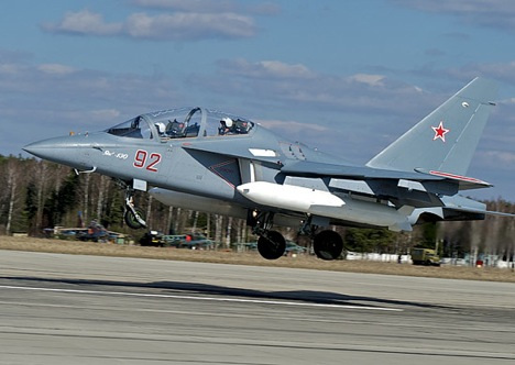 Yak-130. Source: Ministry of Defence of the Russian Federation