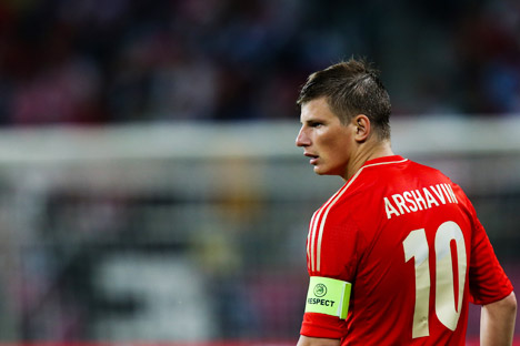 In 2008 Andrey Arshavin's name was on everyone's lips throughout Europe. Source: ITAR-TASS