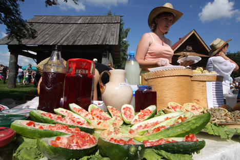 Farmers' markets are growing ever more popular in Russia. Source: RIA Novosti