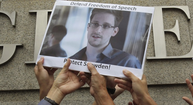 Snowden hit the media spotlight in early June after he leaked to the press information about a US government surveillance programme that allegedly monitored phone and electronic conversations of millions of Americans. Source: Reuters