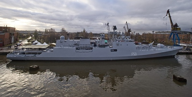 Russia and India signed a $1.6 billion contract on the construction of three modified Krivak III class (also known as Talwar class) guided missile frigates for India in 2006. Source: Rossiyskaya Gazeta