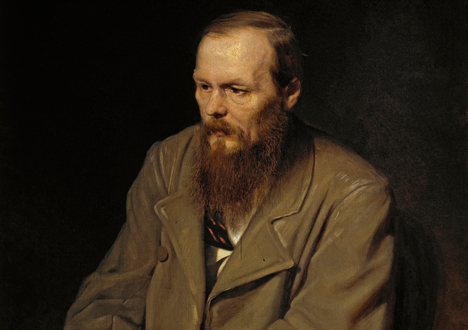 Dostoyevsky vividly describes St Petersburg in Crime and Punishment. Photo: Vasily Perov. Portrait of Fedor Dostoyevsky (fragment). Source: wikipedia.org