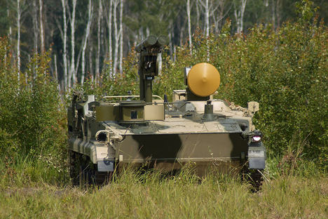 sistem rudal antitank Khrizantema-S.