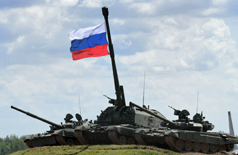 Russia is the biggest supplier of battle tanks. Source: Ministry of Defence of the Russian Federation / mil.ru