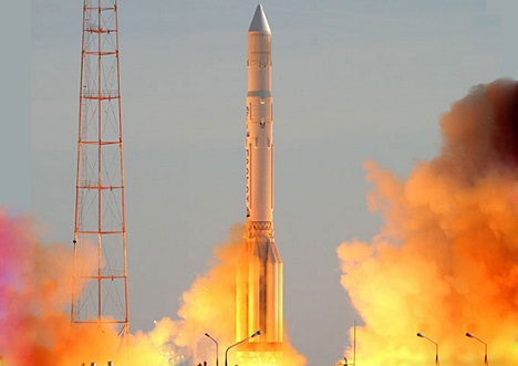 Proton-M carrier rocket. Source: Ministry of Defence of the Russian Federation/mil.ru
