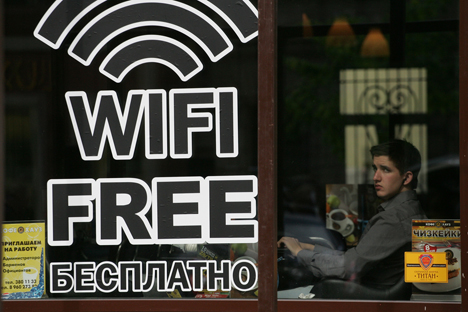 Twenty-five percent of Moscow's secondary educational institutions currently have their own Wi-Fi networks, and, by the next academic year, all of its schools should have free Wi-Fi. Source: PhotoXPress