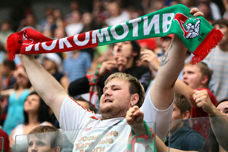 Particularly vicious fans will be put on the blacklist and they will be forbidden to attend the stadiums at all. Source: Kommersant