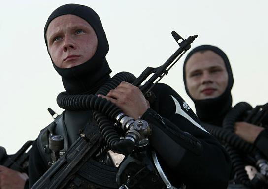 Нови скутер и пушке за руске подводне диверзанте