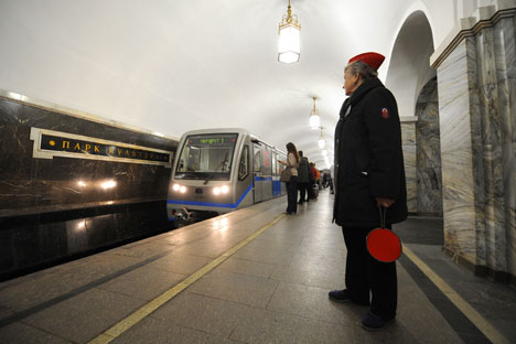Moscow's metro is the third busiest in the world, after Tokyo and Seoul. Source: ITAR-TASS