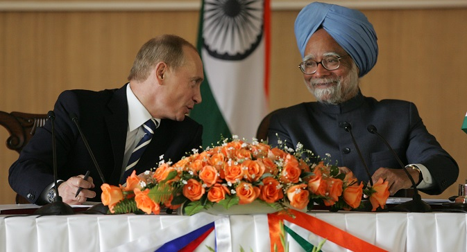 Regular meetings between the leaders of the two nations play great role in fostering better understanding and improving relationship between Russia and India. Source: konstantin Zavrazhin / Rossiyskaya gazeta