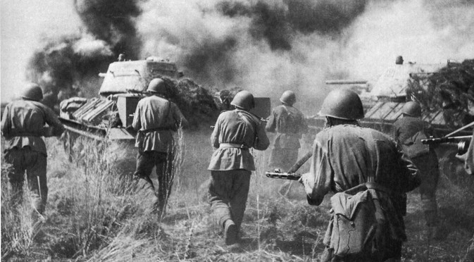 Soviet soldiers wreaked havoc on the elite German armored forces' morale, after which they definitively lost faith in a German victory. Source: Ministry of Defence of the Russian Federation / mil.ru
