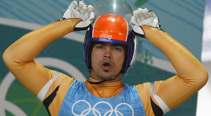 Shiva Keshavan was impressed with the facilities in the city that will play host to the Winter Olympics. Source: Reuters