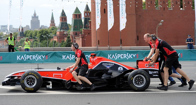 The Marussia F1 Team (photo) is the Anglo-Russian Formula One racing team. Source: ITAR-TASS