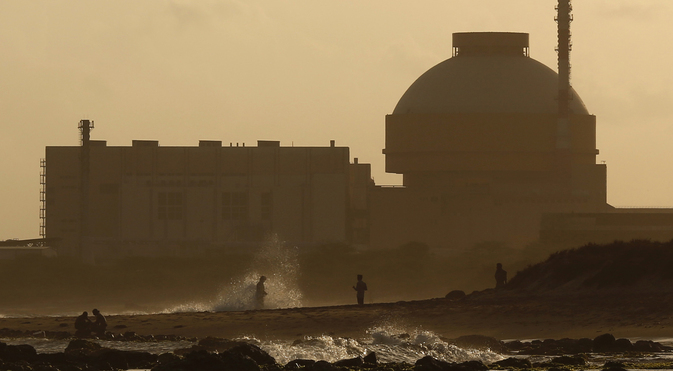 The Kudankulam Nuclear Power Plant (KNPP) is being constructed in technical cooperation with Russia in accordance with an inter-governmental agreement made in 1988. Source: Reuters