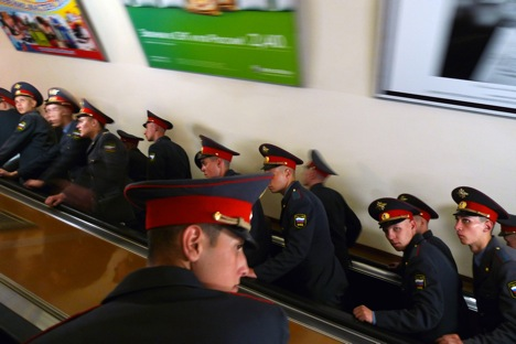 To avoid becoming a victim of a crime, police advise metro passengers to act rationally and take care of their belongings. Source: Sergei Mikheev / RG