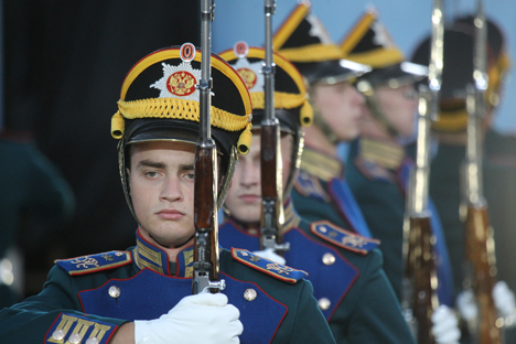 The leading Russian and foreign military bands traditionally participate in the festival. Source: Kurlyaeva Olesya / RG