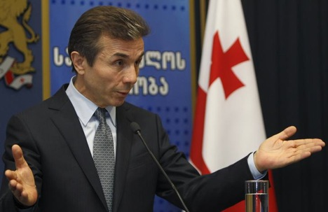 The government of Georgian Prime Minister Bidzina Ivanishvili blames the conflict personally on President Mikhail Saakashvili and his team. Source: Reuters