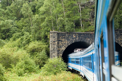 The Eastern BAM railway has a series of tunnels. Source: Lori / Legion Media