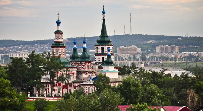Today Irkutsk is a major cultural, industrial and scientific hub and one of Siberia's most popular tourist destinations. Source: gelio-nsk.livejournal.com