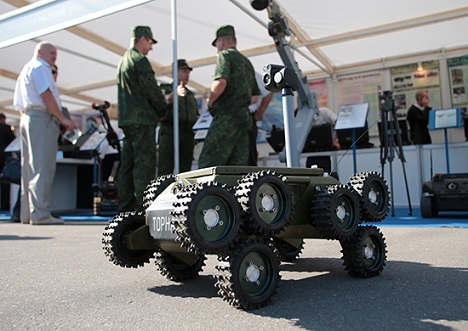 """More than 250 participants of the  """"RF Defense Ministry Innovations Day""""  presented advanced developments designed for introduction into the Russian Armed Forces. Source: Ministry of Defence of the Russian Federation / mil.ru"""