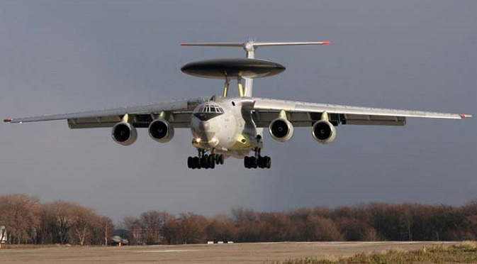 India operates three Russian-made A-50EI airborne early warning and control aircrafts. Source: BERIEV Aircraft Company