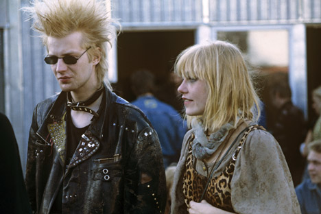 "Punk was an obvious choice for many Soviet youngsters, since they felt exactly the same as one of punk's main mottos — ""No future."" Source: RIA Novosti"