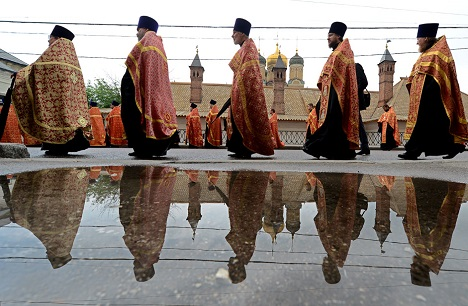 The Russian Orthodox Church has seen a rise in popularity over the last decade. Source: AFP/East News