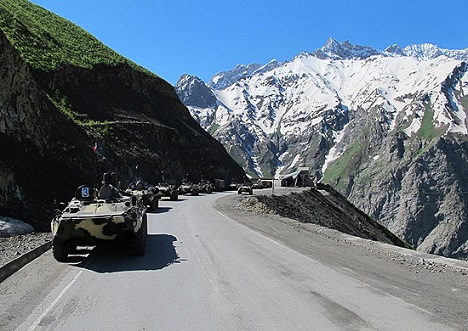Russia has committed to equip Tajikistan's army with modern weapons and to modernise it in general. Source: Ministry of Defence of the Russian Federation / mil.ru