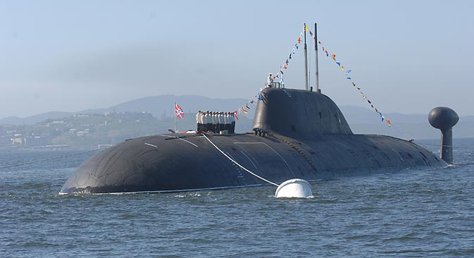 The Indian Navy could use another nuclear submarine from the Akula class (featured above). Source: ITAR-TASS