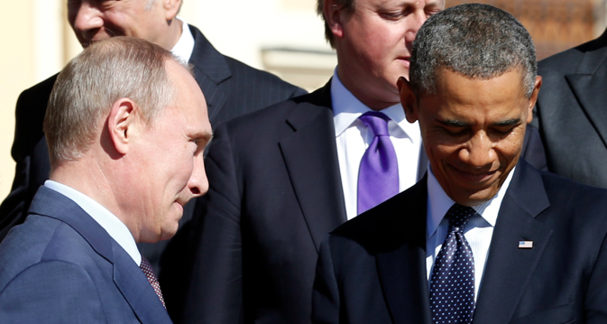 Vladimir Putin made an attempt to reach out to the American people. Source: Reuters