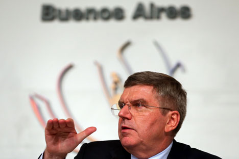 Thomas Bach declared that he will put forward maximum effort to host the Sochi Olympics at an appropriate level. Source: Getty Images/Fotobank
