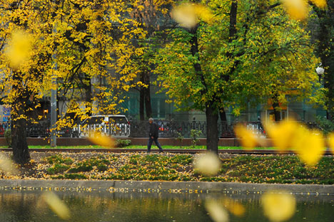 Autumn brought out the creative best in Russia's great writers. Source: ITAR-TASS
