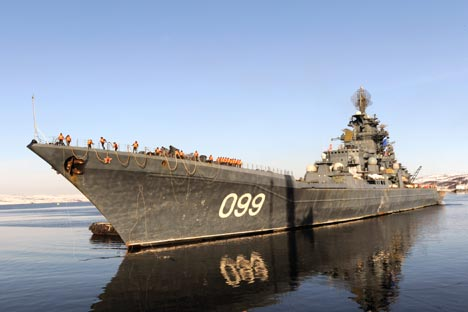 The Project 11442 Pyotr Veliky (Perter the Great) nuclear-powered missile cruiser will carry the type following its upgrade.