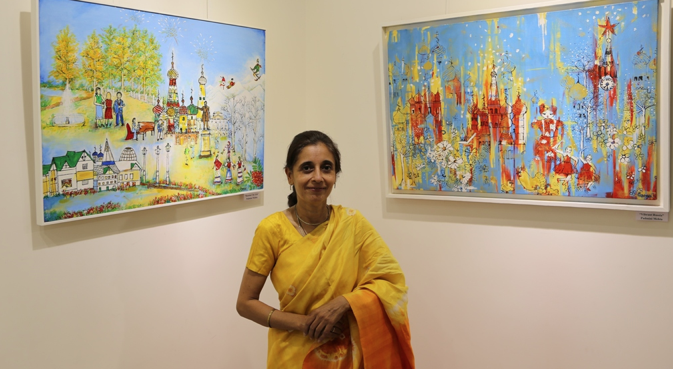 "Padmini Mehta (photo) says Russia, for her, is a vibrant country. ""People are very sweet, cooperative. That I really like."" Source: Alexander Tomas"