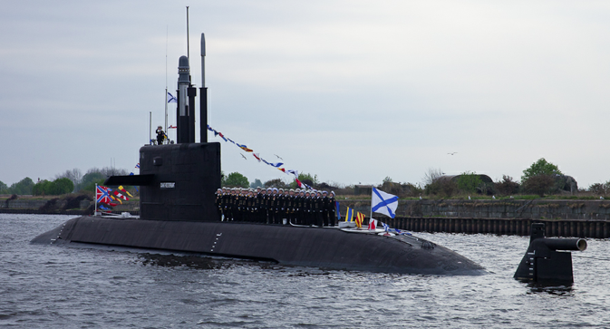 Russia is the world's leading submarines exporter having exported 168 submarines to well over a dozen countries in past fifty years and thus a top contender for the upcoming Indian order. Source: Ministry of Defence of the Russian Federation / mil.ru